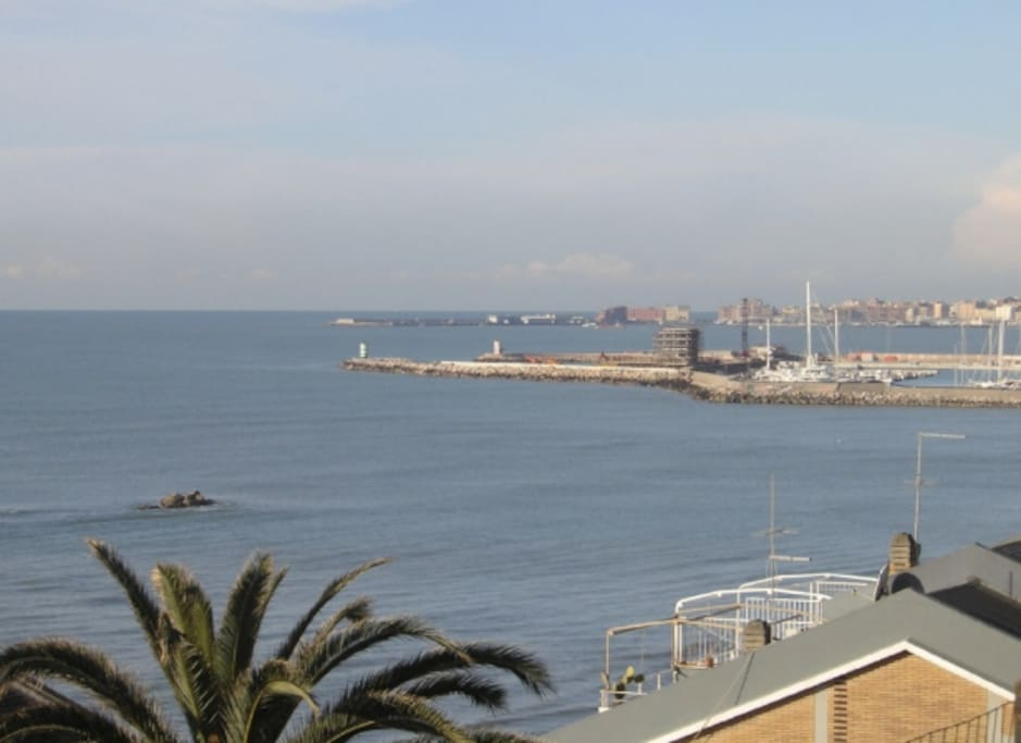 Seaview from the apartment