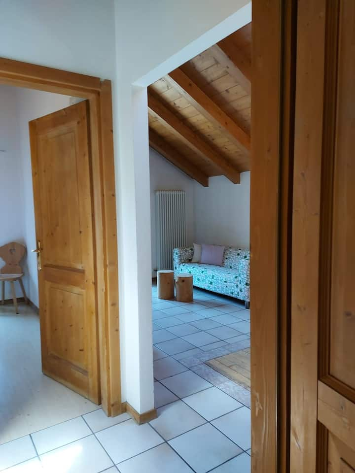 """Comfortable Apartment """"Eurochalet- S2"""" close to the Ski Lifts with Mountain View, Wi-Fi & Balcony; Parking Available"""