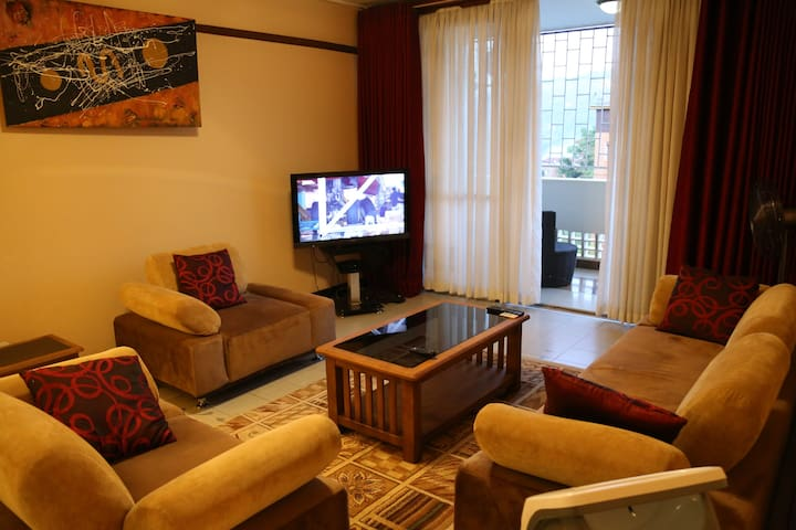 2 bedroomed Furnished Apt