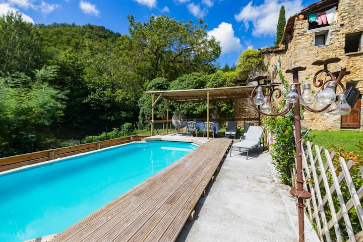 Casa Muzio - Liguria, rural, pvt gdn&pool, sea 20'