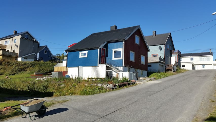 The Blue House at the end of the World (Mehamn)