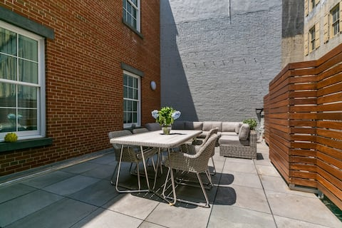 SoHo 2 Bedroom 2 Full Bath with Private Terrace