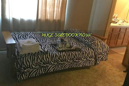 Lovely Vacation room, private restroom, TV, AC! - Wildomar
