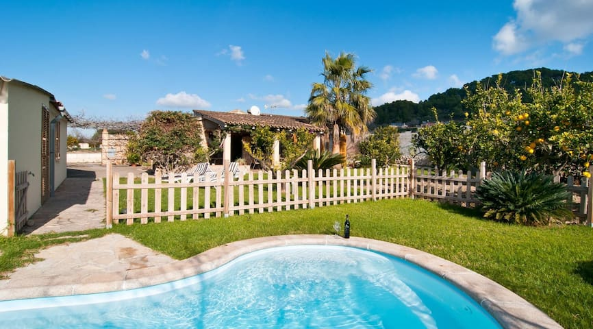 Nice house for 4 pax  with pool in Son Servera