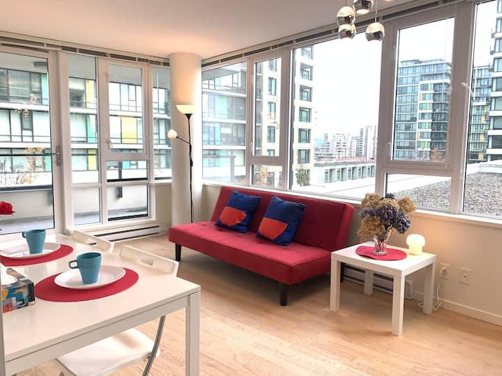 Best  location &comfortable room1B &1B apartment