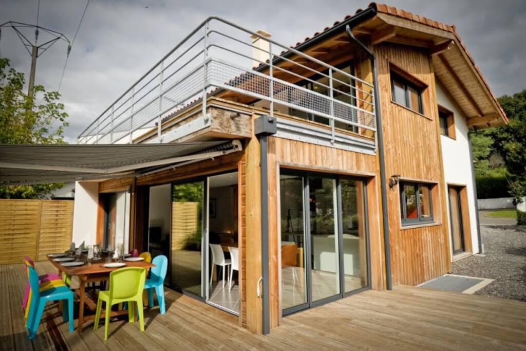 maison entre hossegor et biarritz maisons louer tarnos aquitaine france. Black Bedroom Furniture Sets. Home Design Ideas