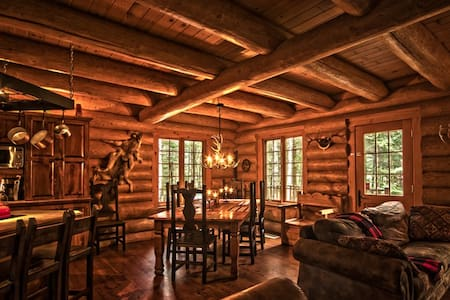 Scandinavian log cabin with hot tub - Saint-Faustin-Lac-Carré