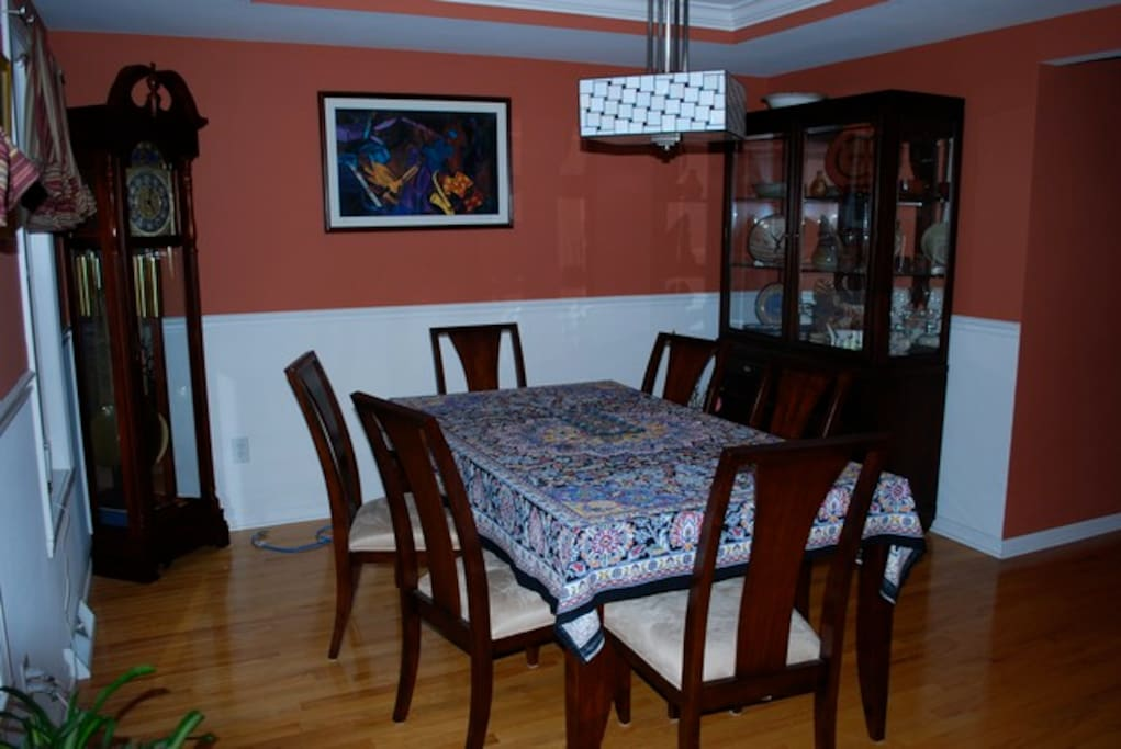 Shared Dining Room Area
