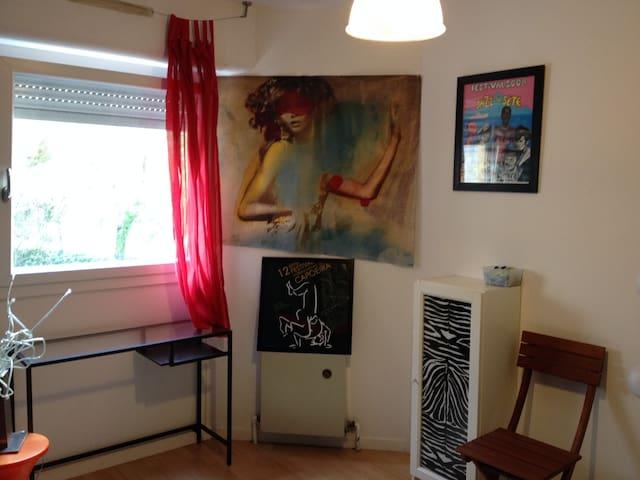 Chambre sdb privée chez l'habitant - Montpellier - Apartament
