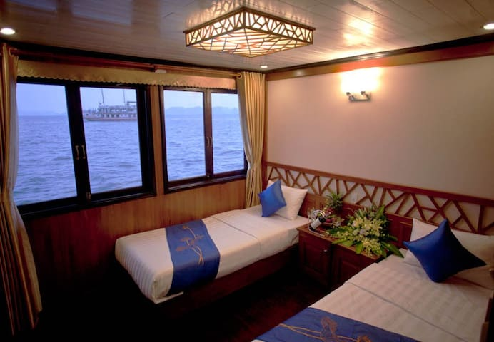 Deluxe cabin on Gray Line Cruise