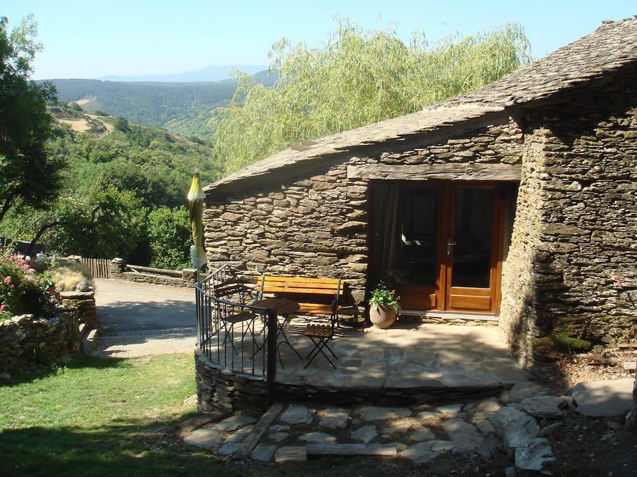 architecture traditionelle des Cévennes préservée