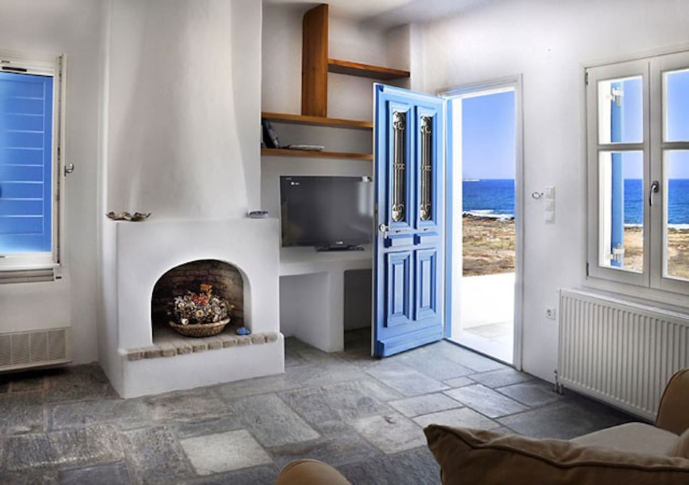 Beautiful home for a romantic getaway or family vacation on Paros.