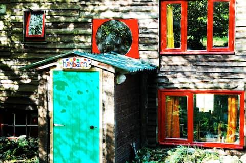 The Haybarn Scottish Highland Cabin