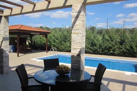 Villa with Private Pool - Monagroulli