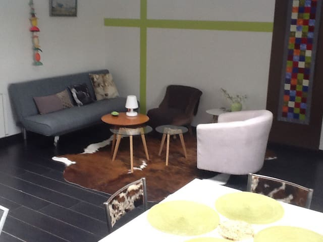 Appartement à 1km 5 des plages, petite vue mer - Clohars-Carnoët - Lejlighed