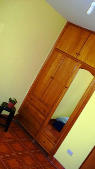 Guestroom armoire/closet