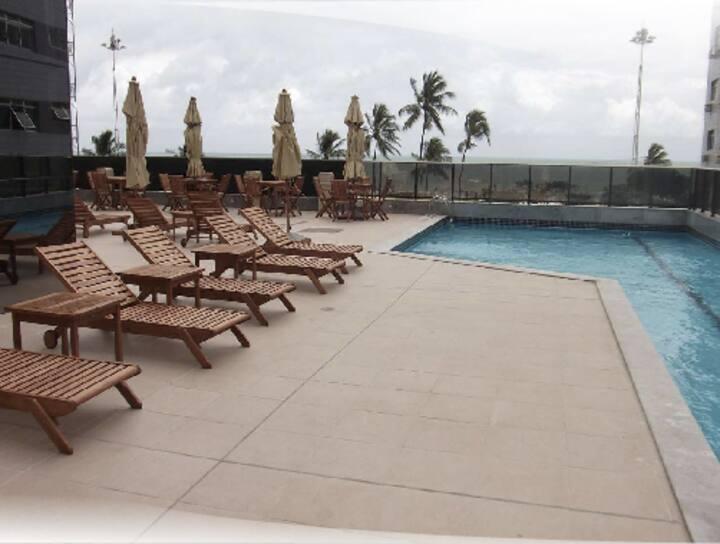 Hotel e Flat charmoso na Beira mar de Boa viagem