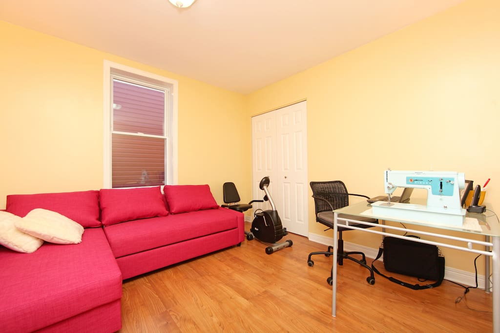 Office and Spare Room on the 2nd Floor