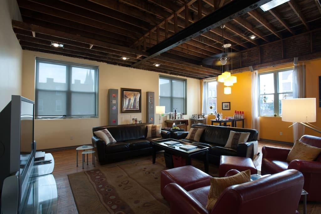 Historic Liermann Loft Suite A