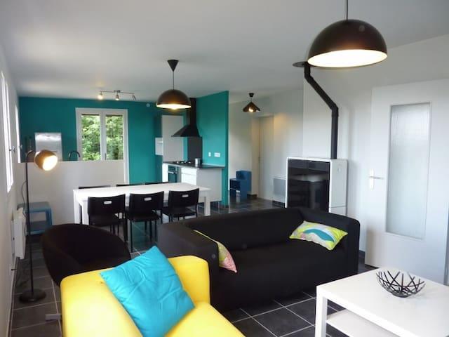 Maison au calme, à la campagne - Saint-Bonnet-le-Bourg - Haus