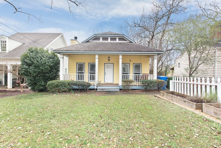 Charming Small Craftsman Bungalow in East Atlanta