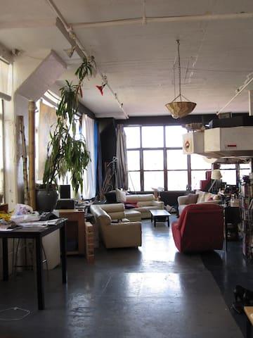 The Pagode Lofted Bedroom - Brooklyn - Loft