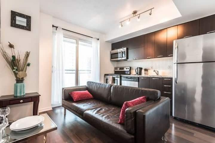 Cozy Condo near CN Tower - downtown