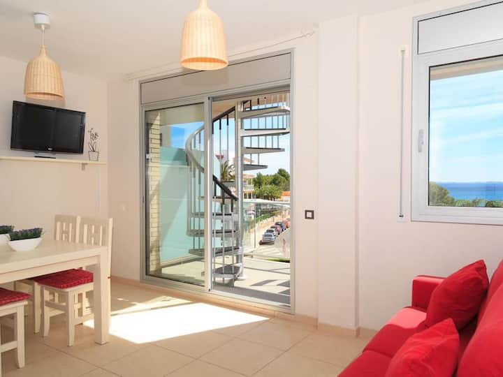 Apartment 20m beach & services included