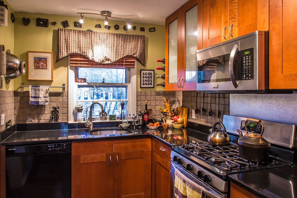 During your stay, you will have access to a fully appointed kitchen
