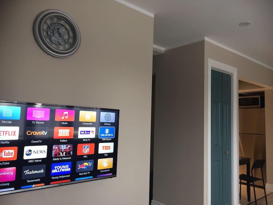 Apple TV provided