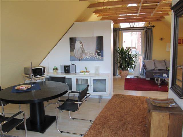 Helle Wohnung mit Sauna bei Münster