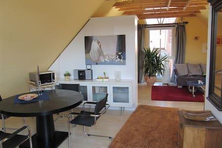 Helle Wohnung mit Sauna bei Münster - Laer - Appartement