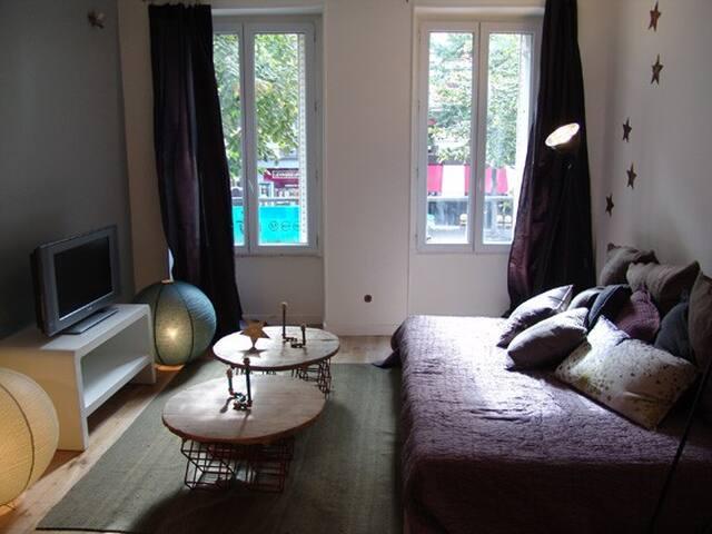 charming studio Père Lachaise