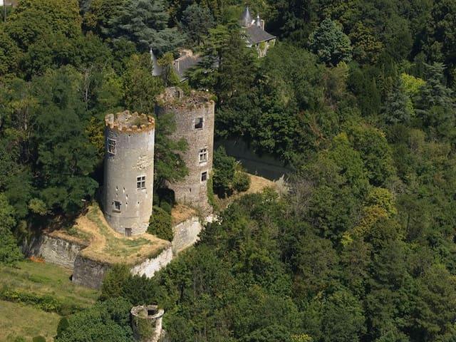 To sleep at the Château de Cinq-Mar - Cinq-Mars-la-Pile - Castle