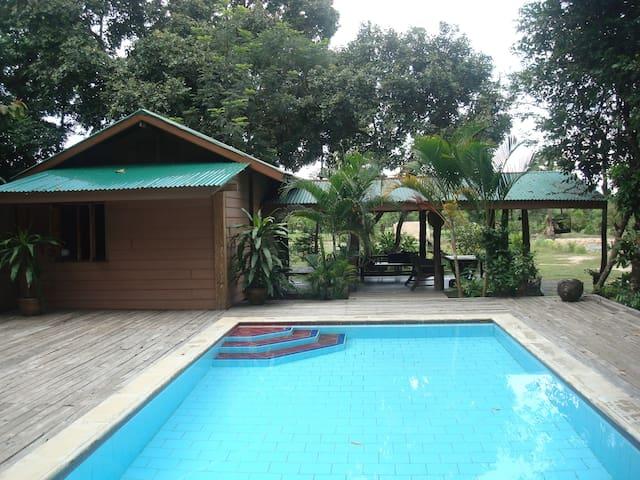 Plantation 21 Villa & Fishing Lake - Don Mot Daeng - Vila