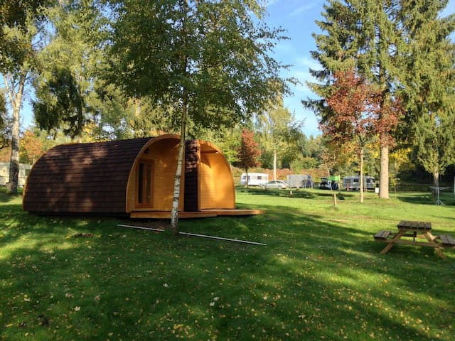 4pers hut at camping Luxembourg - Larochette-Medernach - Cabana