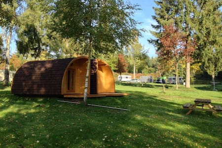4pers hut at camping Luxembourg - Larochette-Medernach