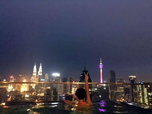 Top Infinity Pool,Near KLCC - Kuala Lumpur