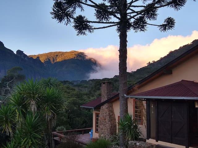 Mountain House in the Corvo Branco Range