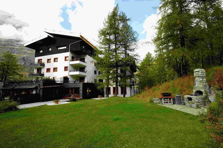 Delightful apartment with balcony in Cervinia