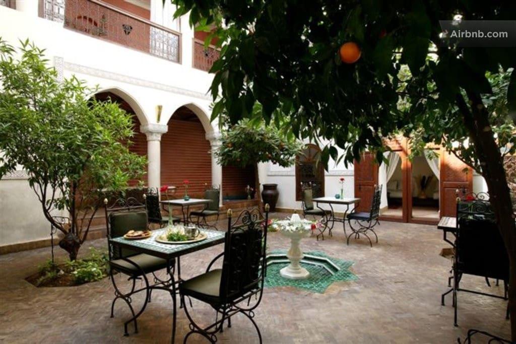 room Double riadsidiayoub Marrakech