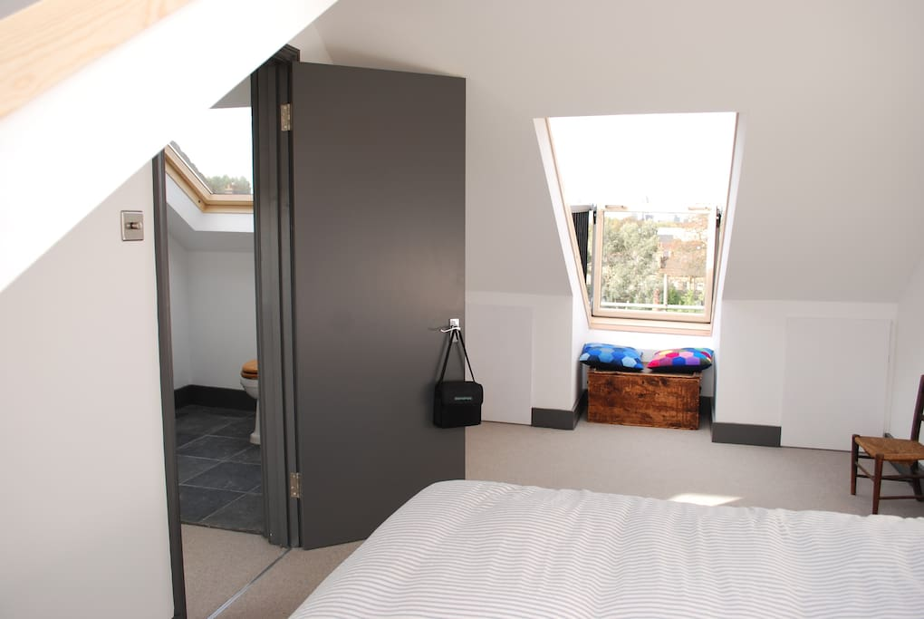 Newly extended 160sq ft loft room with two balconies and ensuite/private shower room