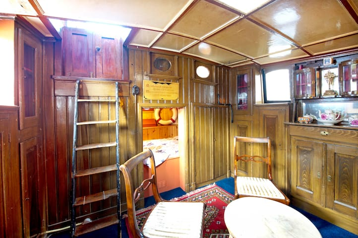 Spacious houseboat in city center! - 格羅寧根