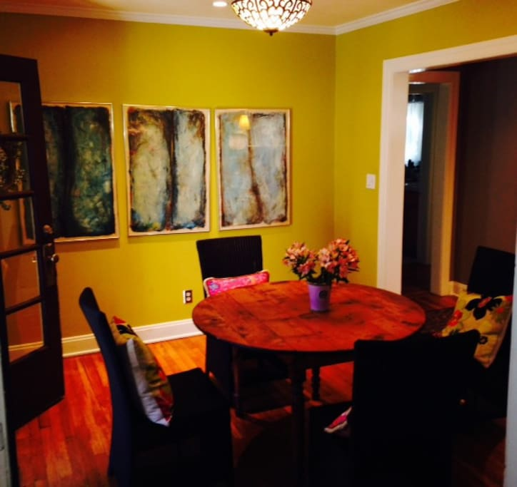Dining room, from the kitchen.