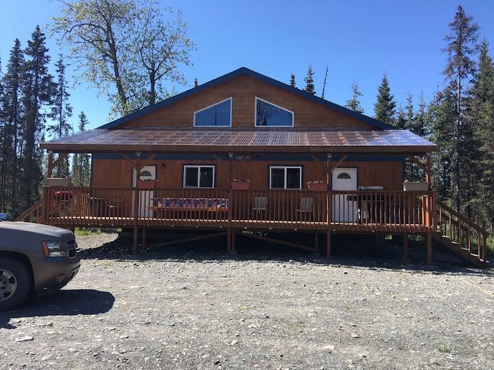 Three bedroom duplex/ cabin on the Kasilof River