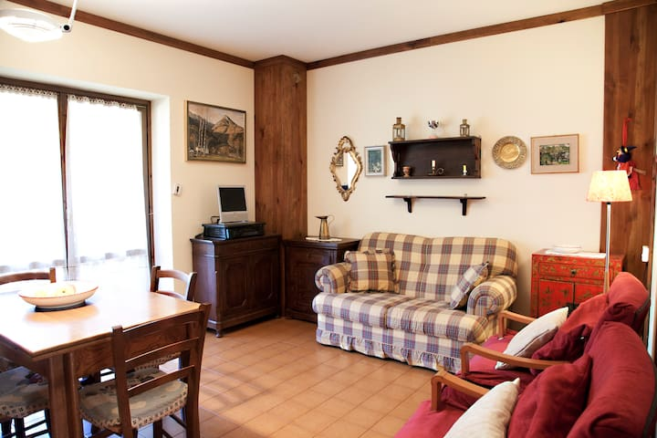 SKI, WALKING, RAFTING, TENNIS, POOL - Scopello - Apartment
