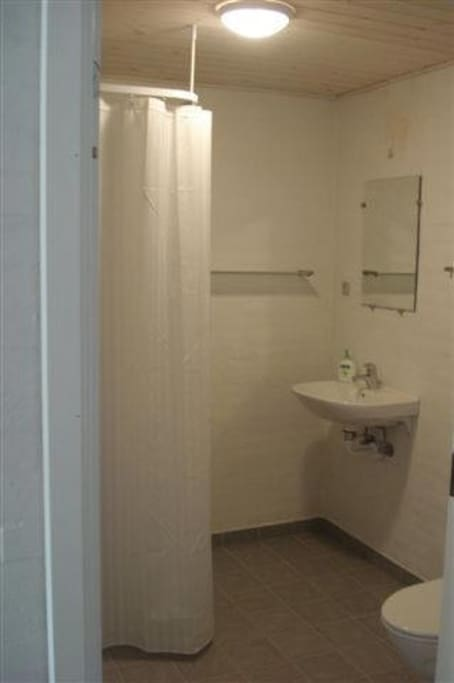 Bad/toilet værelse 1