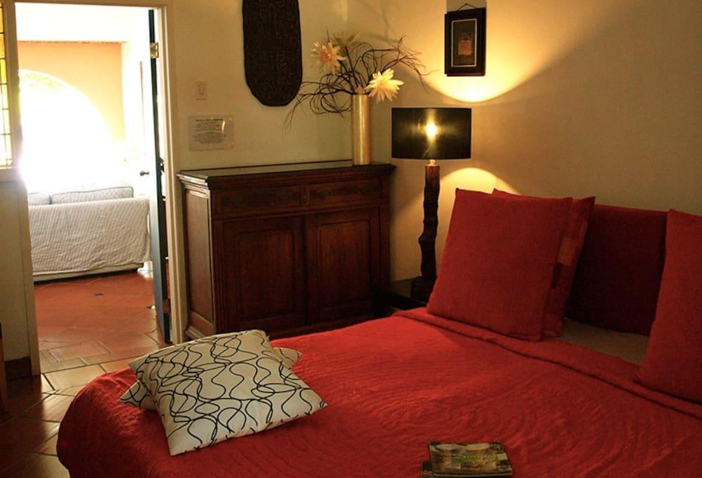 bedroom of 2 bedroom Suite