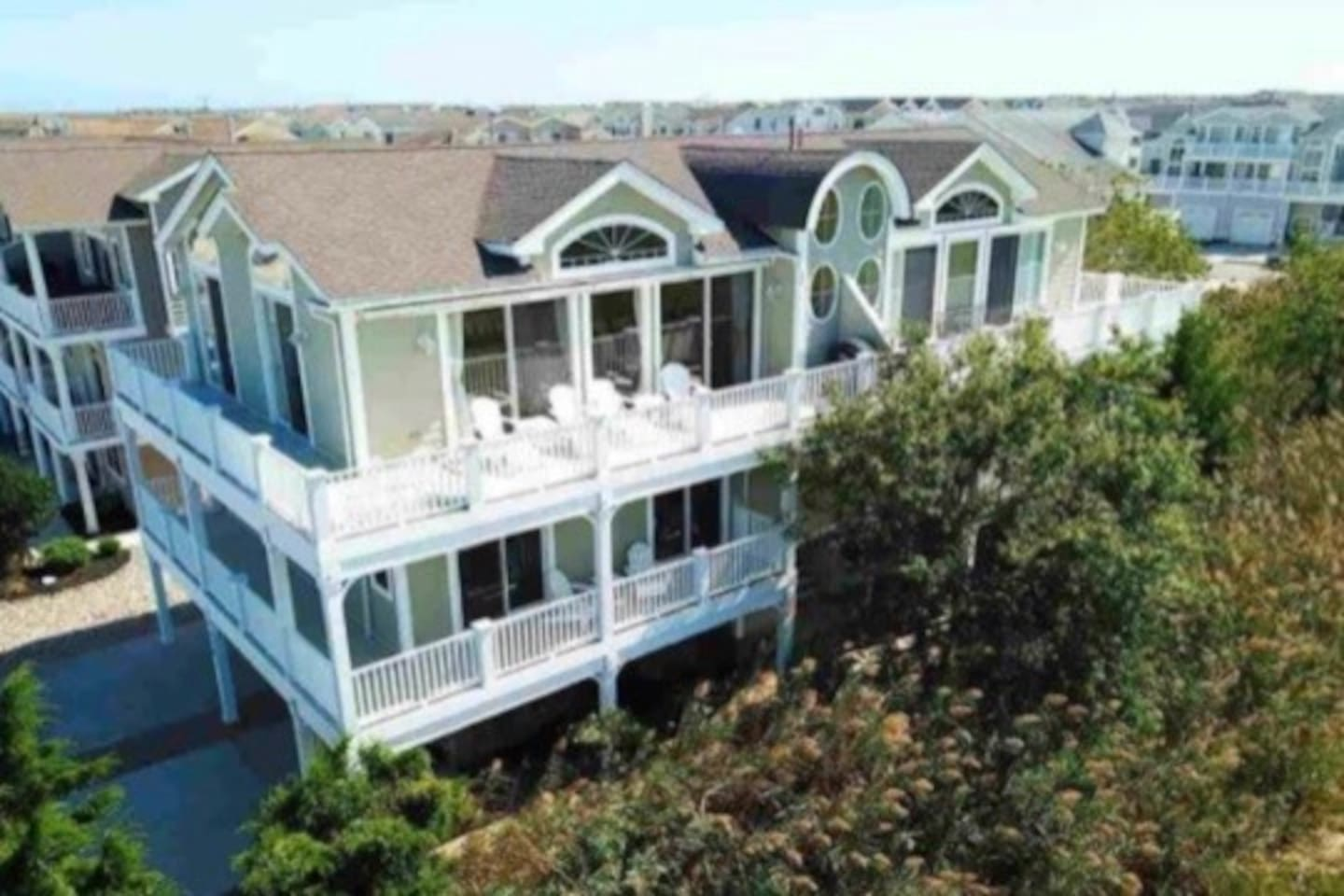 Water Views with Walk out Decks from Master Queen, Master King, Living Room and Pyramid Bed Room