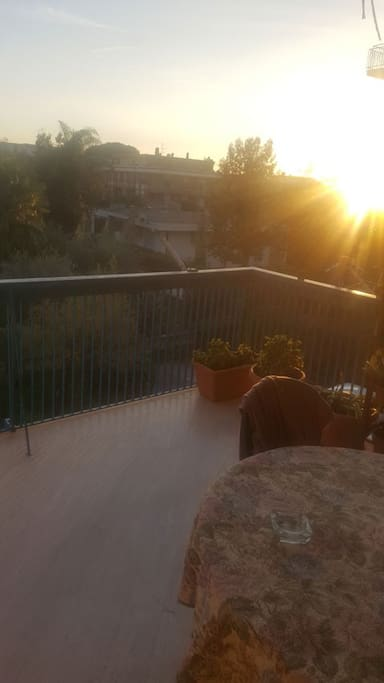 balcone/ terrazza abitabile